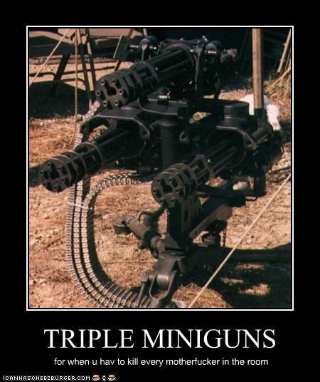 Facebook Like Minigun