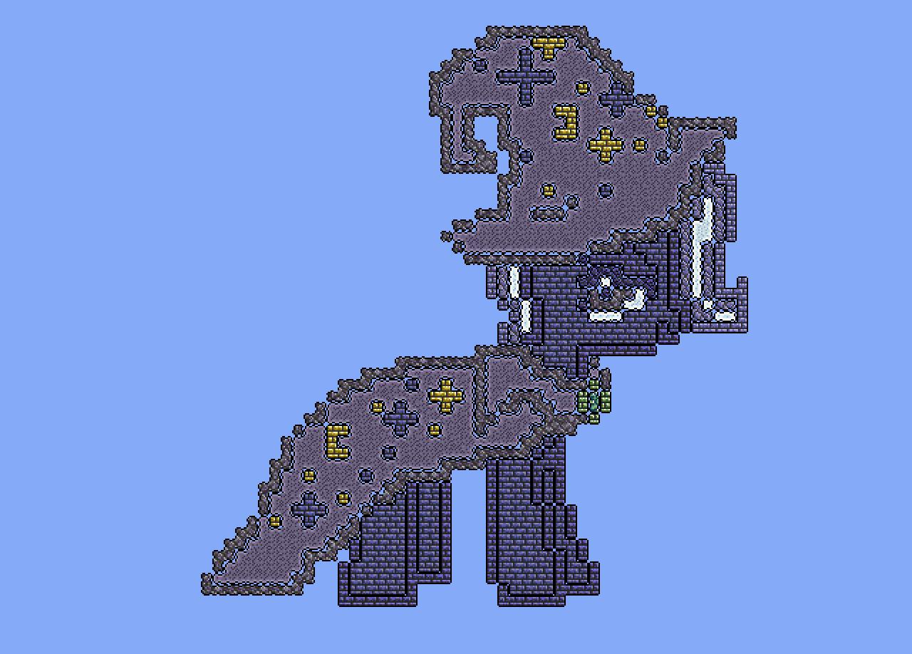 Trixie Terraria Pixel Art