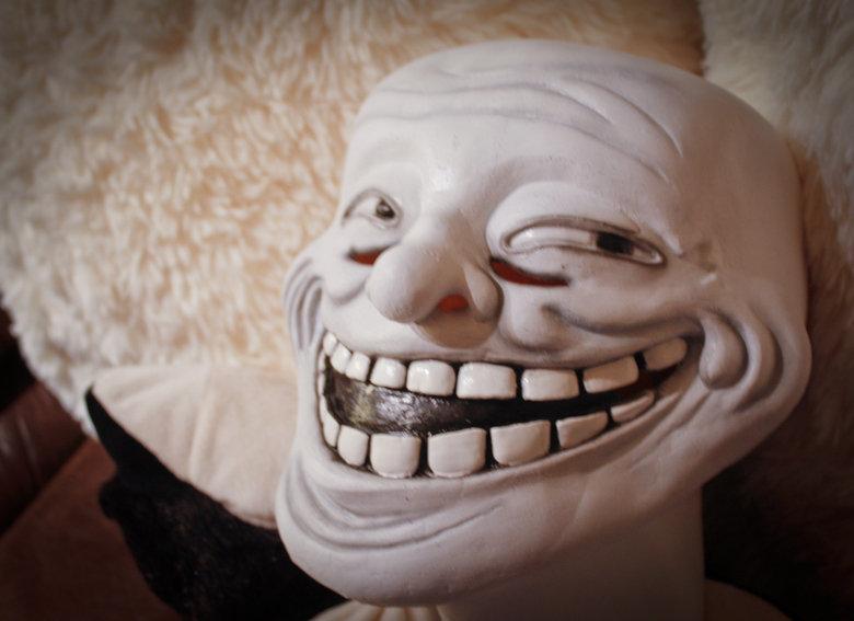 U Jelly Trollface Trollface Halloween Ma...
