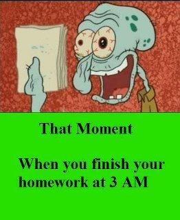 all homework