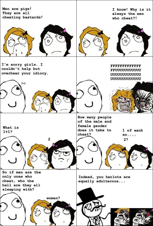 women always cheat