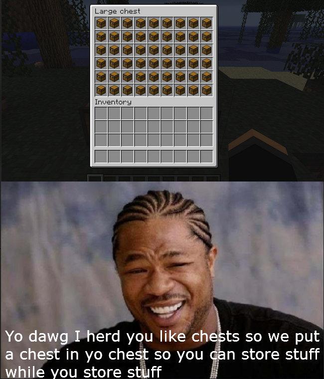 Yo dawg I heard you like chests...