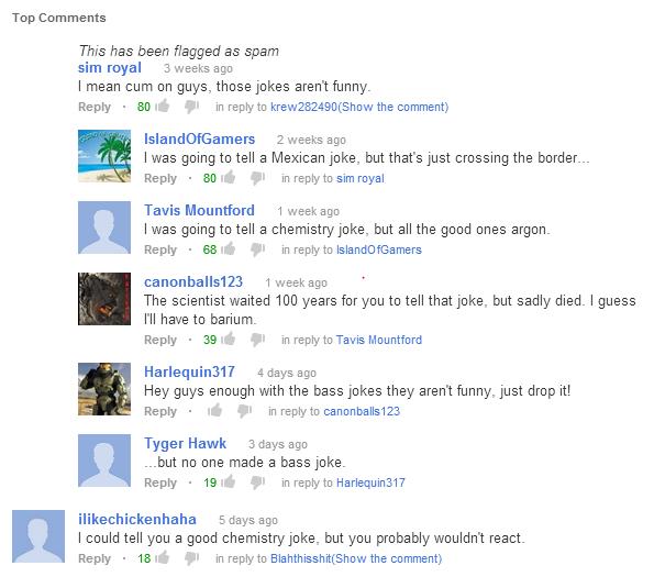 <b>Youtube Jokes</b>