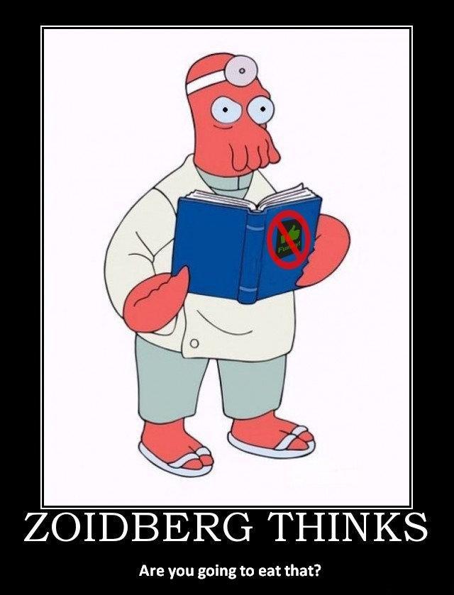 Zoidberg Thinks
